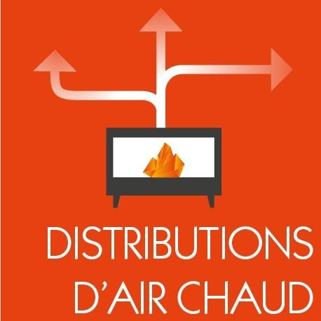 Distributions d'air chaud